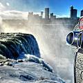 0016 Niagara Falls Winter Wonderland Series by Michael Frank Jr