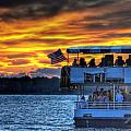 0019 Awe In One Sunset Series At Erie Basin Marina by Michael Frank Jr