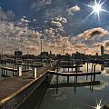 002 Erie Basin Marina D Dock by Michael Frank Jr