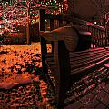 003 Christmas Light Show At Roswell Series by Michael Frank Jr