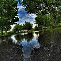 004 After The Rain At Hoyt Lake by Michael Frank Jr