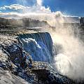 004 Niagara Falls Winter Wonderland Series by Michael Frank Jr