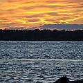 005 Awe In One Sunset Series At Erie Basin Marina by Michael Frank Jr