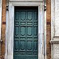 0053 Roman Door 2 by Steve Sturgill