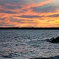 008 Awe In One Sunset Series At Erie Basin Marina by Michael Frank Jr