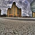008 Entering The Traffic Circle Of Niagara Square by Michael Frank Jr