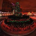 009 Christmas Light Show At Roswell Series by Michael Frank Jr