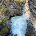 0142 Athabasca River Canyon by Steve Sturgill