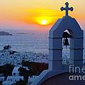0209 Mykonos Sunset by Steve Sturgill