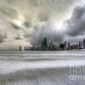 0242 Wintry Chicago by Steve Sturgill