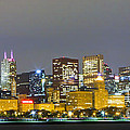 0247 Chicago Skyline Panoramic by Steve Sturgill