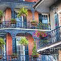 0255 Balconies - New Orleans by Steve Sturgill