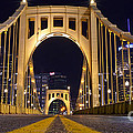 0304 Roberto Clemente Bridge Pittsburgh by Steve Sturgill