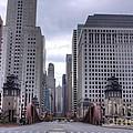 0500 Lasalle Street Bridge Chicago by Steve Sturgill