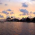 0530 Sunset Tree Silhouette Reflections by Jeff at JSJ Photography