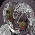 065 - White Veiled Ladies   by Irmgard Schoendorf Welch
