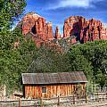 0682 Red Rock Crossing - Sedona Arizona by Steve Sturgill