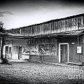 0706 Jerome Ghost Town Black And White by Steve Sturgill