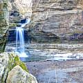 0940 Cascade Falls - Matthiessen State Park by Steve Sturgill