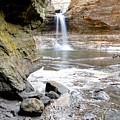 0941 Cascade Falls - Matthiessen State Park by Steve Sturgill