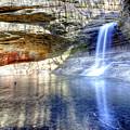 0943 Cascade Falls - Matthiessen State Park by Steve Sturgill