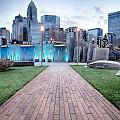 New Romare-bearden Park In Uptown Charlotte North Carolina Earl by Alex Grichenko