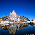 Prusik Peak Reflects In Gnome Tarn by Tracy Knauer
