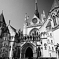 The Royal Courts Of Justice London England Uk by Joe Fox