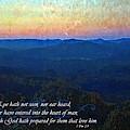 1 Corinthians 2 9 by Michelle Greene Wheeler