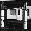 1929 Ralph's Service Station Armory Park Tucson Arizona by David Lee Guss