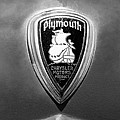 1930 Chrysler Plymouth Emblem by Jill Reger