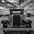 1931 Model T Ford Monochrome by Steve Harrington