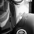 1932 Auburn Twelve Custom Phaeton Taillight Emblem by Jill Reger