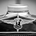 1932 Cadillac Lasalle Grille Emblem by Jill Reger