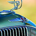 1933 Pontiac Hood Ornament - Emblem by Jill Reger