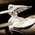 1935 Packard Hood Ornament - Goddess Of Speed by Jill Reger