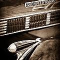 1935 Reo Speed Wagon 6ap Pickup Emblem by Jill Reger