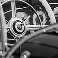 1936 Mercedes-benz 540 Special Roadster Steering Wheel by Jill Reger