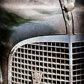1937 Cadillac Hood Ornament And Grille Emblem by Jill Reger