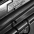 1937 Chevrolet Custom Pickup Emblem by Jill Reger