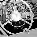 1937 Cord Sc Cabriolet Steering Wheel by Jill Reger