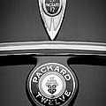 1937 Packard 1508 Twelve Convertible Sedan Emblems by Jill Reger
