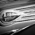 1938 Lincoln Zephyr Emblem by Jill Reger
