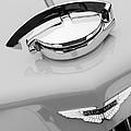 1939 Aston Martin 15-98 Abbey Coachworks Swb Sports Grille Emblem by Jill Reger
