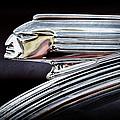 1939 Pontiac Silver Streak Chief Hood Ornament by Jill Reger