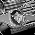 1941 Chevrolet Steering Wheel Emblem by Jill Reger
