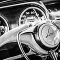 1941 Lincoln Continental Coupe Steering Wheel Emblem -0858c by Jill Reger