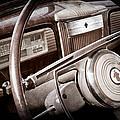 1941 Packard Steering Wheel Emblem by Jill Reger