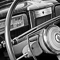 1941 Packard Steering Wheel by Jill Reger