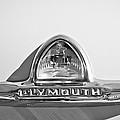 1948 Plymouth Deluxe Emblem by Jill Reger